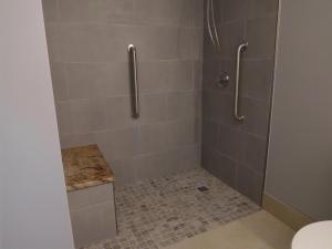 Kamer met Kingsize Bed en Rolstoelgeschikte Douche - Geschikt voor Gasten met een Lichamelijke Beperking