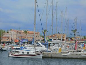 Au Golf Près De La Méditerranée, Appartamenti  Saint-Cyprien - big - 14
