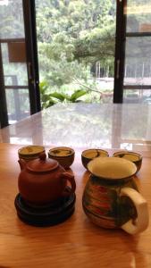 Qian's Garden Inn, Проживание в семье  Lugu - big - 20