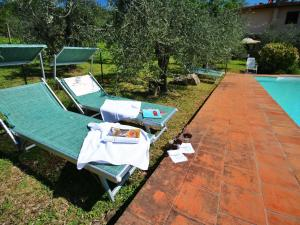 Il Crocino Di Lecchi Rosso/Verde/Torre, Дома для отпуска  San Sano - big - 16