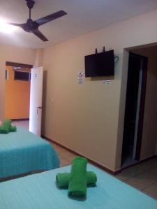 Hotel y Balneario Playa San Pablo, Отели  Monte Gordo - big - 63