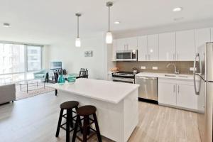 One-Bedroom on Western Avenue Apt S - 418, Apartments  Boston - big - 3