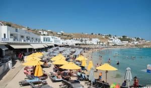 Acrogiali Hotel, Hotels  Platis Yialos Mykonos - big - 57