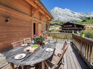 Chalet L'Ours Blanc, Horské chaty  Le Grand-Bornand - big - 15
