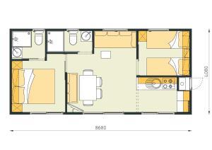 Campsite Porton Biondi Mobile Homes Mediteran, Ferienparks  Rovinj - big - 44