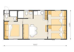 Campsite Porton Biondi Mobile Homes Mediteran, Ferienparks  Rovinj - big - 7