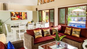 Palm View Villa, Vily  Lamai - big - 3