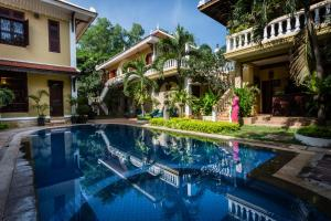 HanumanAlaya Colonial House, Hotely  Siem Reap - big - 60