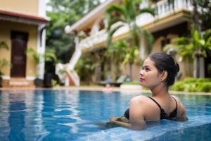 HanumanAlaya Colonial House, Hotely  Siem Reap - big - 52