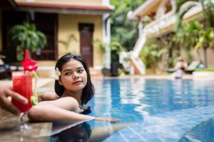 HanumanAlaya Colonial House, Hotely  Siem Reap - big - 51