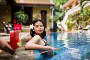 HanumanAlaya Colonial House, Hotely  Siem Reap - big - 48
