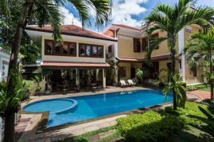 HanumanAlaya Colonial House, Hotely  Siem Reap - big - 45