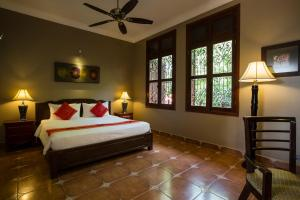 HanumanAlaya Colonial House, Hotely  Siem Reap - big - 11
