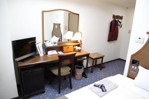 Hotel New Station, Отели эконом-класса  Мацумото - big - 10