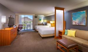 Specialty Queen Room with Two Queen Beds and Mountain View