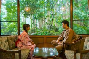 Ichirino Kogen Hotel Roan, Рёканы  Hakusan - big - 8