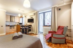 Daily Rooms Apartment at Balchug Island, Ferienwohnungen  Moskau - big - 29