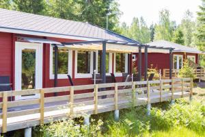 Hamgården Nature Resort Tiveden, Country houses  Tived - big - 1