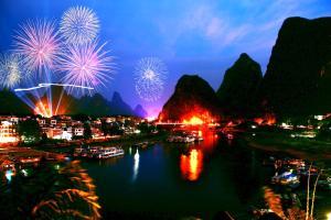 Green Lotus Hotel River View Yangshuo, Отели  Яншо - big - 41