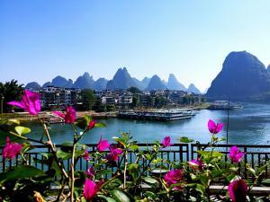 Green Lotus Hotel River View Yangshuo, Отели  Яншо - big - 44