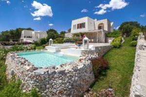 Villa Fanò, Villák  Castro di Lecce - big - 7