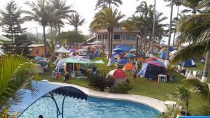 Hotel y Balneario Playa San Pablo, Отели  Monte Gordo - big - 103