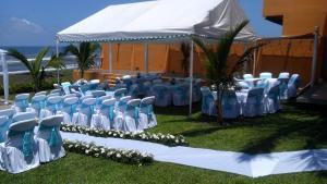 Hotel y Balneario Playa San Pablo, Отели  Monte Gordo - big - 247