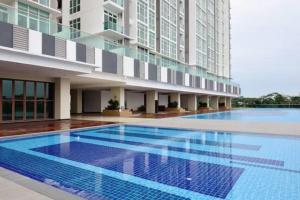 Amazing Seaview near JB City Centre, Apartmány  Johor Bahru - big - 15