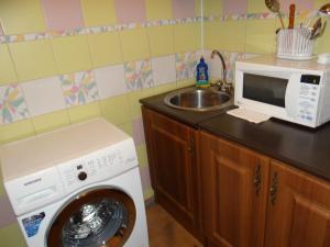 Aliance Apartment at Lenina 26, Ferienwohnungen  Krasnoyarsk - big - 7