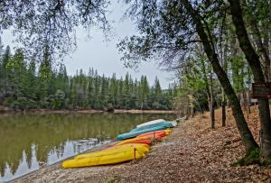 Lake of the Springs Camping Resort Cabin 1