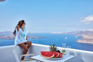 Alti Santorini Suites, Vily  Megalokhori - big - 147