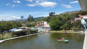 Hosteria San Vicente, Хостелы  Guaillabamba - big - 28