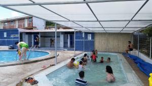 Hosteria San Vicente, Хостелы  Guaillabamba - big - 30
