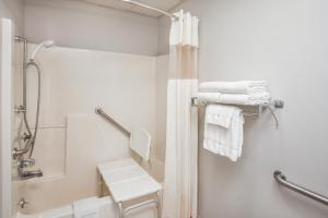 Queen Room with Roll-in Shower - Disabilty Access - Non-Smoking