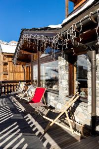 Les Campanules Hôtels-Chalets de Tradition, Hotel  Tignes - big - 69