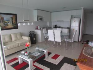 Departamento Diamante vista al Mar, Apartmanok  Papudo - big - 4