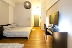 O2 Hotel - Ximen Branch, Apartmanok  Tajpej - big - 54