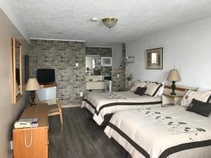 Motel Belle Riviere, Motely  Saint-Jean-sur-Richelieu - big - 27