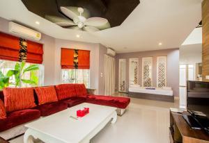 Tamnak Beach House, Ferienhäuser  Na Jomtien - big - 43