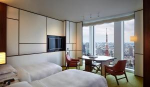 Twin Room with Tower View