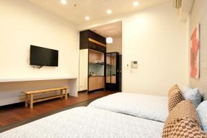 O2 Hotel - Ximen Branch, Apartmanok  Tajpej - big - 66