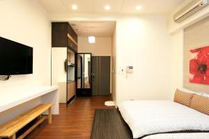 O2 Hotel - Ximen Branch, Apartmanok  Tajpej - big - 67