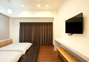 O2 Hotel - Ximen Branch, Apartmanok  Tajpej - big - 70