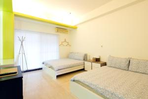O2 Hotel - Ximen Branch, Apartmanok  Tajpej - big - 63