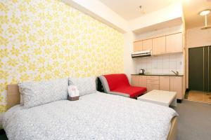 O2 Hotel - Ximen Branch, Apartmanok  Tajpej - big - 35