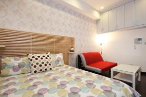 O2 Hotel - Ximen Branch, Apartmanok  Tajpej - big - 24