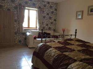 La Poire Grange, Bed & Breakfasts  Villedieu-les-Poëles - big - 16