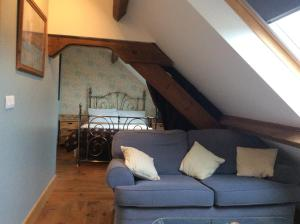 La Poire Grange, Bed & Breakfasts  Villedieu-les-Poëles - big - 18