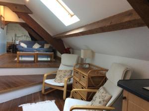 La Poire Grange, Bed and Breakfasts  Villedieu-les-Poëles - big - 1