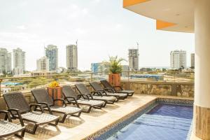 Apartamento Terrazas Tayrona, Appartamenti  Santa Marta - big - 8